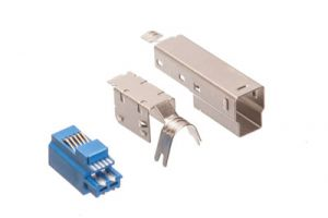 USB 3.0 B Male Solder Connector