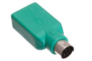 USB 2.0 Type A Female to PS2 Male Adapter