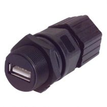 L-com Waterproof USB Type A Field Installable Connector