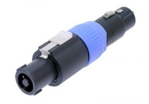 Neutrik XLR Female to speakON Female Adapter | NA4FC-F