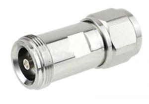 4.1/9.5 Mini-DIN Female to N Male Adapter