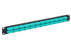 LC Quad High Density Fiber Patch Panel  - 40/100GB - 48 Duplex/96 Simplex Port