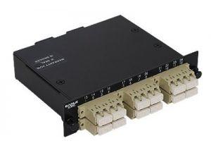 LC Multimode Duplex MTP/MPO Fiber Optic Cassette - 50/125 - 12 Port