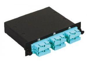 SC Multimode Duplex MTP/MPO Fiber Optic Cassette - 10GB  - 6 Port