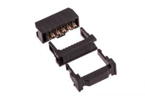 10 Pin Dual Row IDC Socket - Female