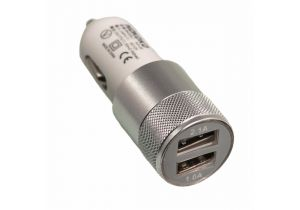 2 Port - USB Car Charger - 3.1A