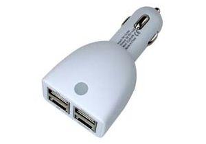 4 Port - USB Car Charger - 4.6A