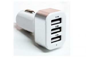 3 Port - USB Car Charger - 5.1A