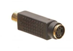 RCA Female to S-Video Female Adapter