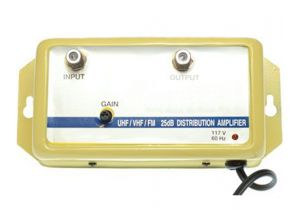 VHF/UHF/FM Variable Gain Amplifier - 47 to 1000MHz - 25 dB