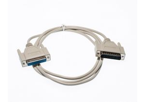 6ft DB25 M/F Null Modem Cable