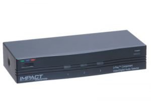 3-Way Component-Video and Digital-Audio Switch Box (3in/1out)