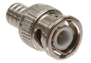 BNC Male Crimp Connector - RG59 & RG62 PVC