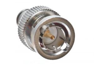 BNC Male Twist On Right Angle Connector - RG 6 PVC