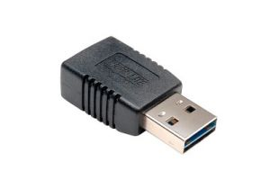 USB 2.0 Reversible A Male to A Female Adapter
