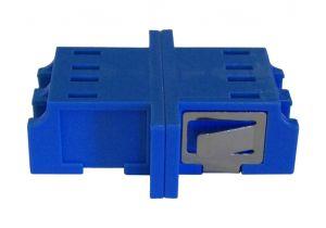 LC/LC Duplex Singlemode/Multimode Fiber Adapter - Ceramic