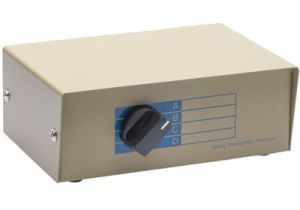 4-Way BNC Manual Switch Box (4in/1out)