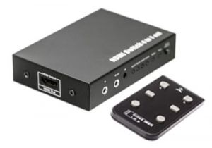 4-Way HDMI Switch Box with IR Extension (4in/1out)