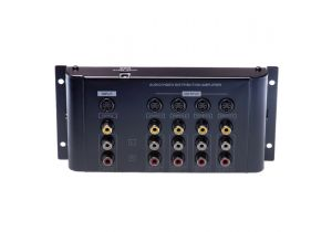 4-Way S-Video & Composite A/V Distribution Amplifier (1-in/4-out)