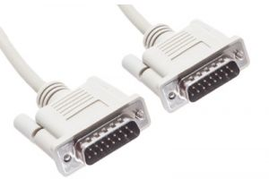 DB15 Male to DB15 Male Serial Cable