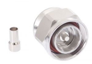 7/16 DIN Male Crimp Connector - RG58 & LMR-195