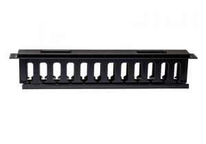 """ECore DuroRacks 1U 19"""" Cable Management Plastic material"""