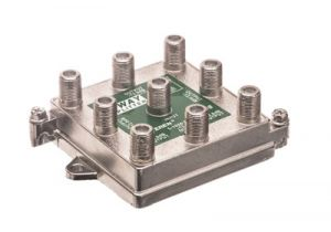 8-Way Coax Splitter - 5 to 1000 MHz