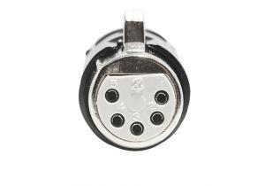 XLR 5 Pin Female Solder Connector