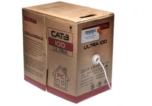 CAT 3 NON SHIELDED CABLE - 24 AWG - Per Foot