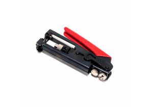 Compression & Crimp Tool for RG59, & RG6 - F Type, BNC, & RCA