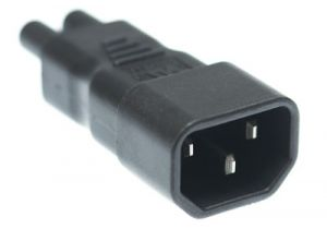 C14 to C5 Power Adapter