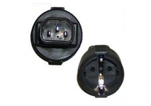 C14 to Female Schuko Power Adapter