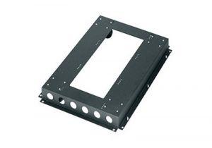 CBS Series Fine Floor Caster Base for WRK Racks - 27 Inch Depth
