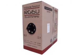 RG6 Quad Shield Coax Cable - BC