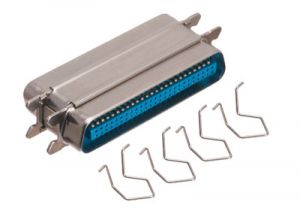 50 Pin Telco / Amphenol Low Profile Gender Changer - Male to Male