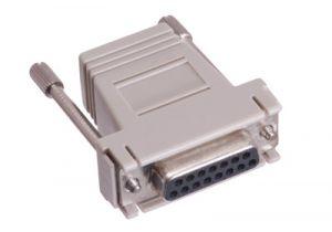 DB15 Female to RJ12 Female Modular Adapter Kit - 6 Conductor