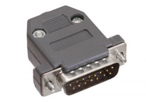 DB15 Male Crimp Connector Kit - Plastic