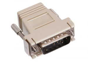 DB15 Male to RJ12 Female Modular Adapter Kit - 6 Conductor