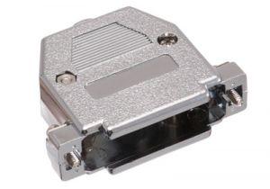 DB25 & HD44 Hood - Metalized Plastic