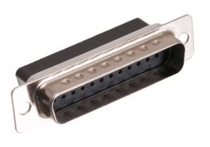 DB25 Male Crimp Connector