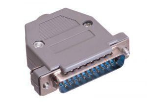DB25 Male Solder Connector Kit - Plastic