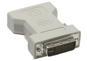 DVI-I Dual Link Male to HD15 VGA Female Adapter