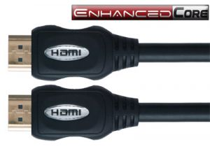 Enhanced Core High Speed HDMI Cable with Ethernet - 6 Foot
