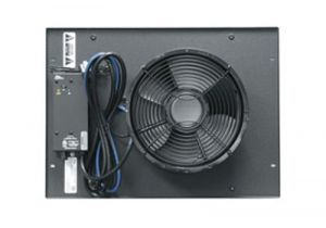 Integrated Fan Top Option with Controller - Includes One 10 Inch Fan
