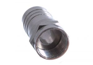 F-Type Male Crimp Connector with 1/2 Crimp Ring - RG6