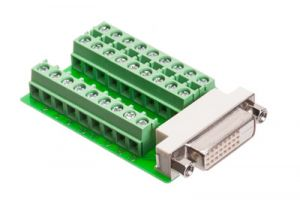 Female DVI-D Dual Link Field Termination Connector