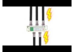 2-Way Coax Splitter - 5 to 2150 Mhz - All Ports Power Passive | HFS-2P