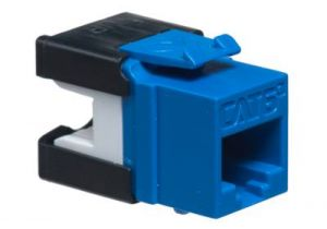ICC Cat6a RJ45 Punchdown Keystone Jack - High Density