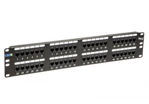 ICC Cat6C Component-Rated Patch Panel - 48 Port