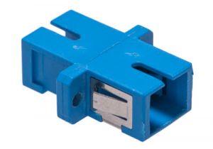 ICC SC/SC Simplex Singlemode/Multimode Fiber Adapter - Ceramic